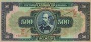 500 Mil Réis (Thesouro Nacional; 15th print) -  obverse
