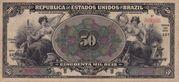 50 Mil Réis (Thesouro Nacional; 14th print) -  obverse