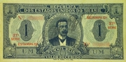 1 Mil Réis (Thesouro Nacional; 12th print) -  obverse