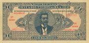 1 Mil Réis (Thesouro Nacional; 11th print) – obverse