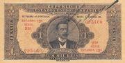 1 Mil Réis (Thesouro Nacional; 13th print) – obverse