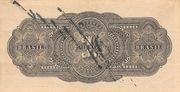 1 Mil Réis (Thesouro Nacional; 13th print) – reverse