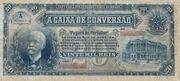 20 Mil Réis (Caixa de Conversão; 1st print) -  obverse