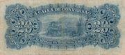 20 Mil Réis (Caixa de Conversão; 1st print) -  reverse