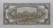 10 Mil Réis (4th Banco do Brasil; 2nd print) -  reverse