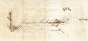 5 Mil Réis (Thesouro Nacional; Copper exchange note) -  reverse