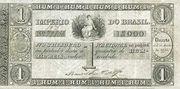 1 Mil Réis (Thesouro Nacional; 1st print) -  obverse