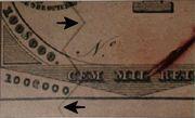 50 Mil Réis (Thesouro Nacional; Copper exchange note) -  obverse