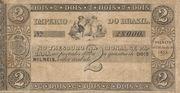 2 Mil Réis (Thesouro Nacional; 1st print) -  obverse