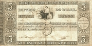 5 Mil Réis (Thesouro Nacional; 1st print) -  obverse