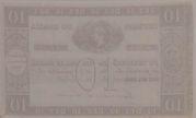 10 Mil Réis (Thesouro Nacional; 1st print) -  reverse