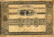 200 Mil Réis (Thesouro Nacional; 1st print) -  obverse
