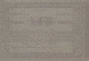 200 Mil Réis (Thesouro Nacional; 1st print) -  reverse