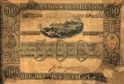500 Mil Réis (Thesouro Nacional; 1st print) -  obverse