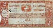 2 Mil Réis (Thesouro Nacional; 2nd print) -  obverse
