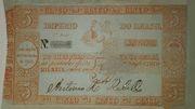 5 Mil Réis (Thesouro Nacional; 2nd print) -  obverse