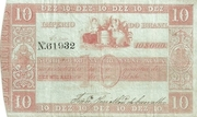 10 Mil Réis (Thesouro Nacional; 3rd print) -  obverse