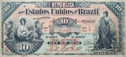 10 Mil Réis (Thesouro Nacional; 8th print) – obverse