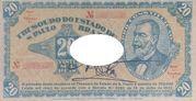 20 Mil Réis (1932 Revolution Bonus; 2nd print) -  obverse