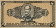50 Mil Réis (1932 Revolution Bonus; 2nd print) – obverse