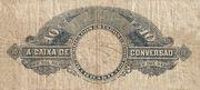 10 Mil Réis (Caixa de Conversão; 2nd print) -  reverse