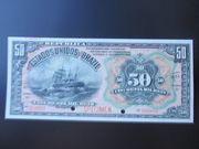 50 Mil Réis (Tesouro Nacional; 11ª Estampa) (1908) -  obverse