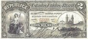2 Mil Réis (Thesouro Nacional; 8th print) – obverse