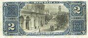 2 Mil Réis (Thesouro Nacional; 8th print) – reverse