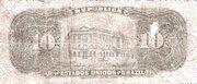 10 Mil Réis (Tesouro Nacional; 11ª Estampa) (1907) – reverse
