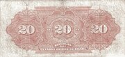 20 Mil Réis (Tesouro Nacional; 13ª Estampa) (1911) – reverse