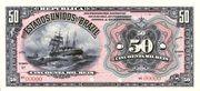 50 Mil Réis (Tesouro Nacional; 11ª Estampa) (1908) – obverse