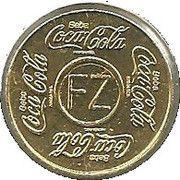 Vending Machine Token - Coca-Cola (FZ - Fortaleza, Ceará) – obverse