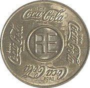Vending Machine Token - Coca-Cola (RE - Recife, Pernambuco) – obverse