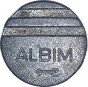 Arcade Token - Albim – reverse