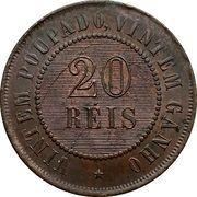 20 Réis -  reverse