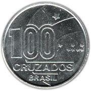100 Cruzados (Abolition of Slavery, child) – reverse