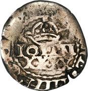 50 Réis - João IV (Countermarked ½ Tostão) – obverse