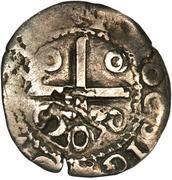50 Réis - João IV (Countermarked ½ Tostão) – reverse
