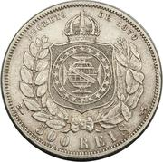 500 Réis - Pedro II -  reverse