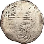 200 Réis - João IV (Countermarked 1 Tostao) – obverse