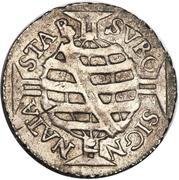 80 Réis - Pedro II (large crown) – reverse