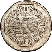 160 Réis - Pedro II (narrow crown) – reverse