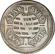 640 Réis - Pedro II – reverse