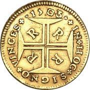 2000 Réis - Pedro II – reverse