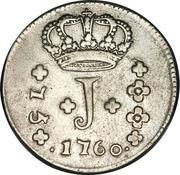 75 Réis - José I – obverse