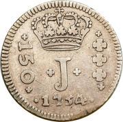 150 Réis - Jose I – obverse