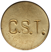 100 Réis (Colonia Santa Teresa; Leprosarium Coinage) – reverse