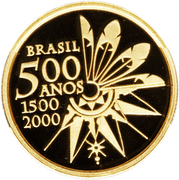 20 Reais (Discovery of Brazil) – obverse