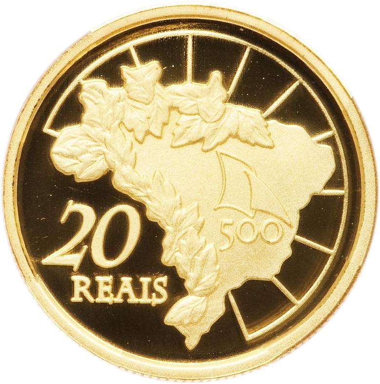 20 Reais (Discovery of Brazil) - Brazil – Numista