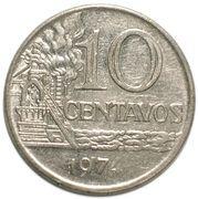 10 Centavos (magnetic) -  reverse